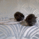 smoky quartz earrings uk