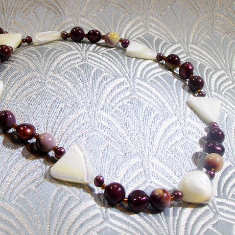 Short Mookaite Handmade Necklace