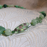beads for green aventurine pendant necklace