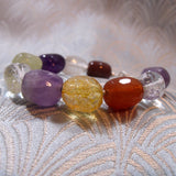 unique semi-precious bracelet handmade gemstones