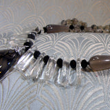 crystal quartz gemstone beads