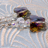 crystal butterfly beads