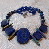unique lapis lazuli necklace handmade uk