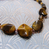 tigers eye gemstone beads