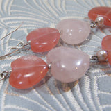 Long Semi-Precious Earrings (949)