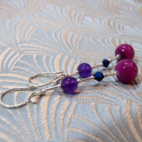 Long Dangle Handmade Earrings
