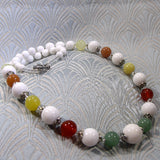 mixed gemstone necklace uk crafted