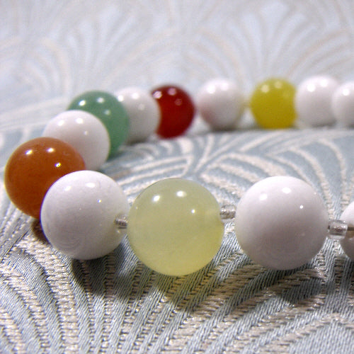 semi-precious stone bracelet jewellery uk, unique gemstone jewellery bracelet mixed