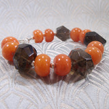 smoky quartz bracelet uk