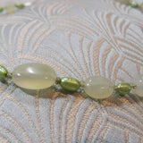 green jade gemstone beads