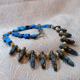 blue jasper necklace uk