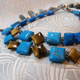 blue gemstone beads