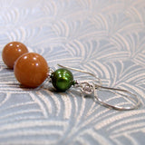 handmade gemstone earring design