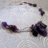 amethyst handmade necklace uk
