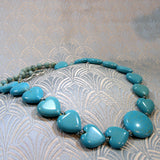 handmade turquoise necklace jewellery uk