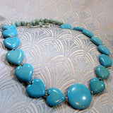 handmade turquoise semi-precious necklace jewellery