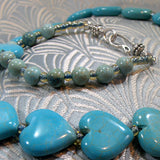 turquoise necklace clasp