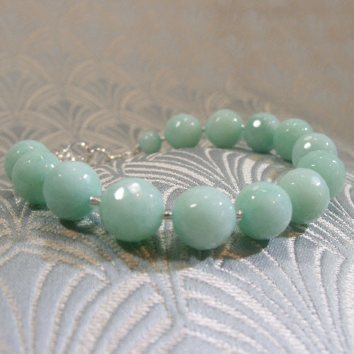 handmade gemstone bracelet jewellery uk, semi-precious stone jewellery