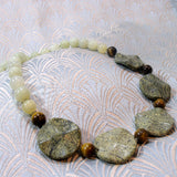 handmade new jade necklace design