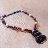 handmade sodalite necklace uk
