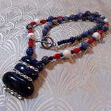 sodalite handmade necklace uk