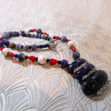 sodalite necklace handmade uk