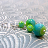 handmade bead drop earrings uk