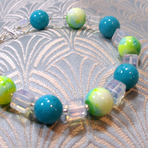 handmade bracelet jewellery uk, semi-precious gemstone jewellery bracelet