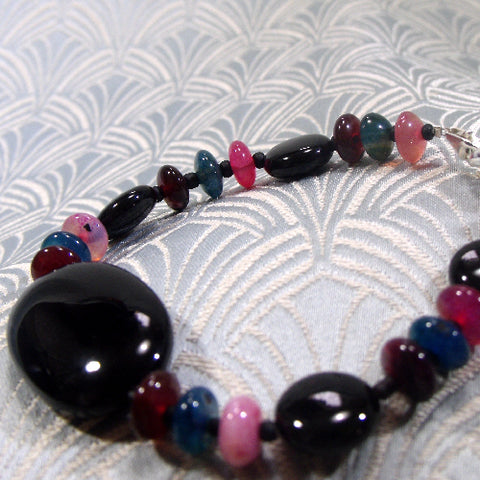 Tourmaline Gemstone bracelet UK