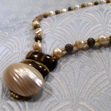 tigers eye necklace handmade semi-precious jewellery