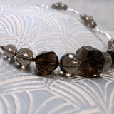 smoky quartz nuggets and beads