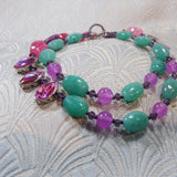 beautiful semi-precious stone beads