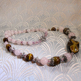 semi-precious stone necklace uk crafted