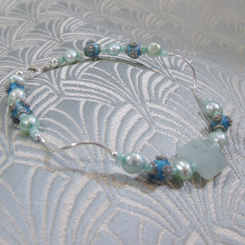 Amazonite Gemstone Bracelet (E7)