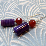 agate earrings handcrafted jewellery design