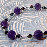 amethyst jewellery bracelet uk