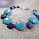 handmade semi-precious gemstone necklace jewellery