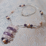 unique rose quartz semi-precious gemstone jewellery