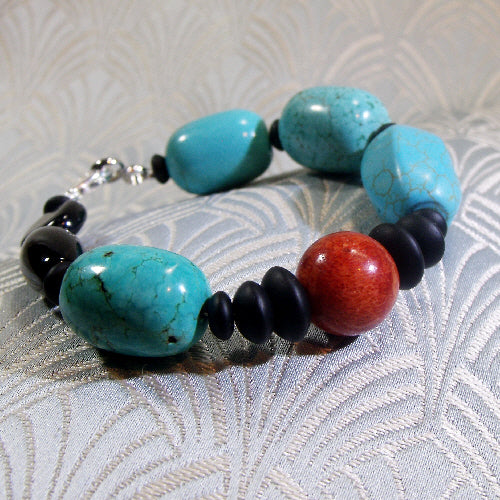 mixed gemstone bracelet uk, semi-precious gemstone jewellery, semi-precious gemstone bracelet design