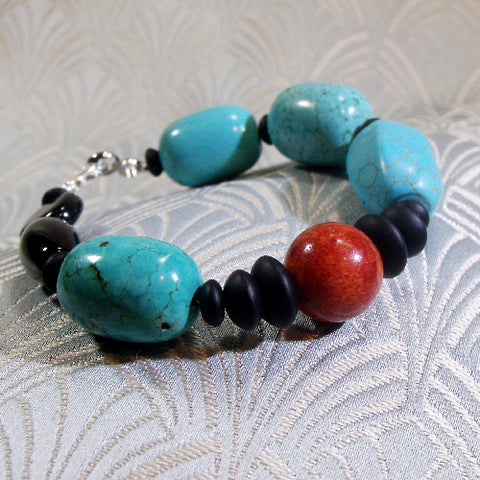 Mixed Gemstone Bracelet (F10)