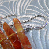 orange crystal quartz