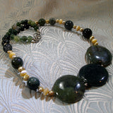 green jasper sale necklace