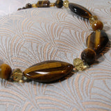 unique tigers eye necklace