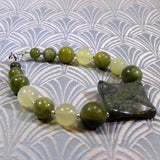 mixed jade bracelet