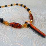 handmade semi-precious stone necklace