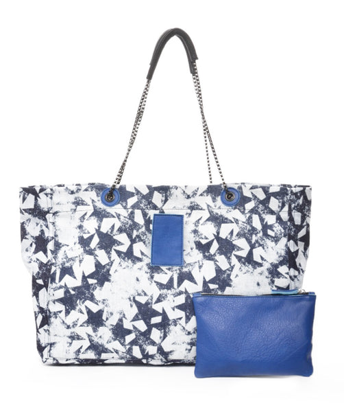 Denim Star Bag Royal Blue