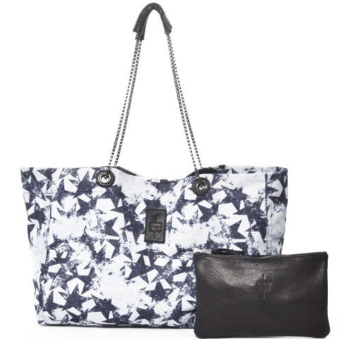Denim Star Bag Black