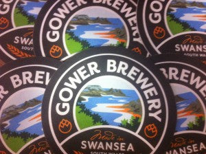 Gower Brewery Beer Mats