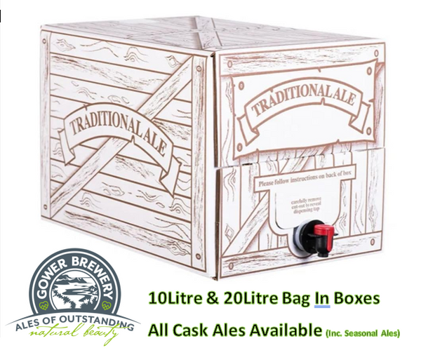 Cask Ale Bag in Box - 20 Litres