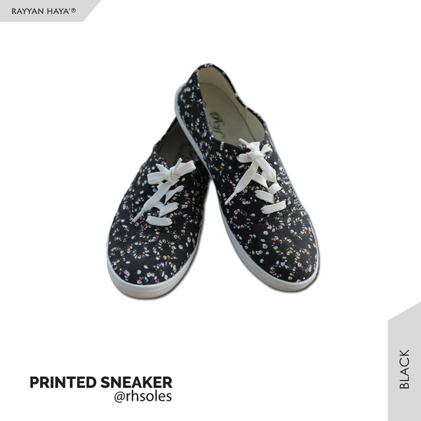 Printed Sneakers (Black)